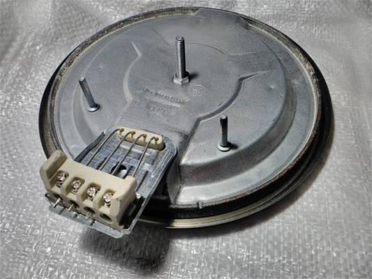 Чугунная конфорка 1500Вт d180 мм электроплиты под плавный регулятор