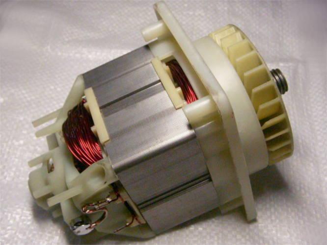 Двигатель с длинным статором для газонокосилки Einhell, Al-Ko