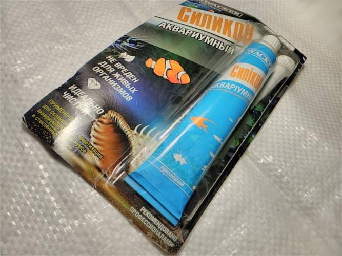 Высокопрочный силиконовый клей для аквариумов