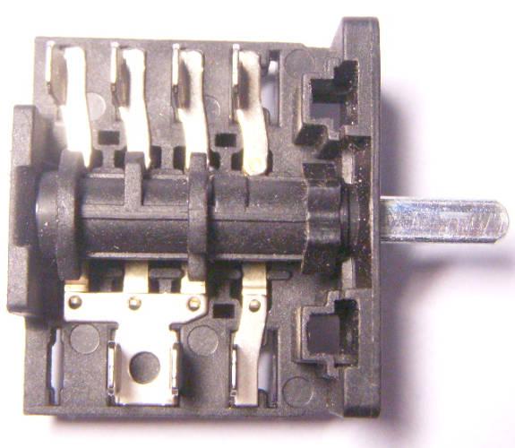 6-ти позиционный переключатель электроплиты LUXELL LF 60 FES