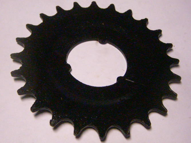 Велосипедная звезда на 24 зуба диаметром внутри 37 мм
