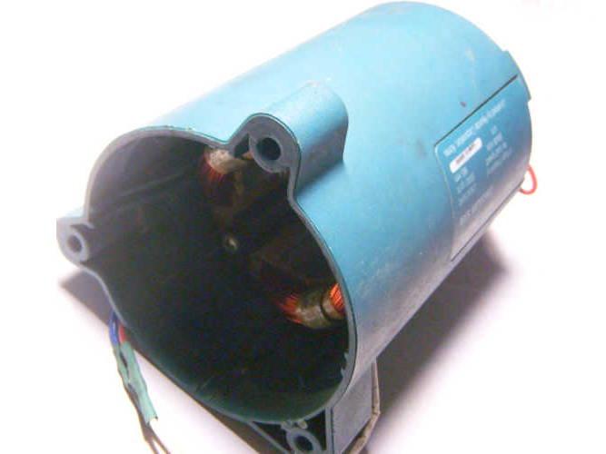 Перемотка статора дисковой пилы Hyundai C 1400-185