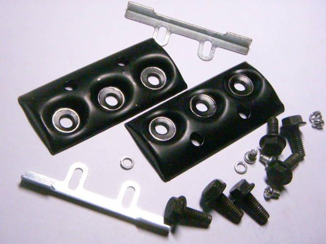 Комплект клиньев ножей рубанка с крепежом под пять болтов