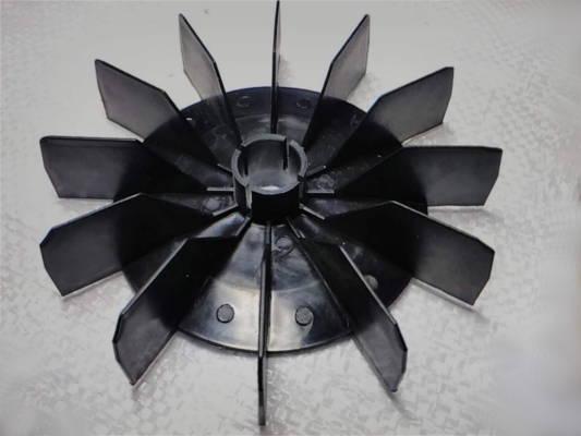 Охлаждающая крыльчатка d19-106-145 для двигателя зернодробилки