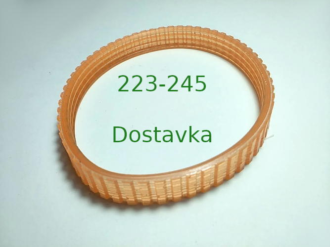 Ручейковый ремень 245-222*10 для рубанка Мастер Данила 900Вт