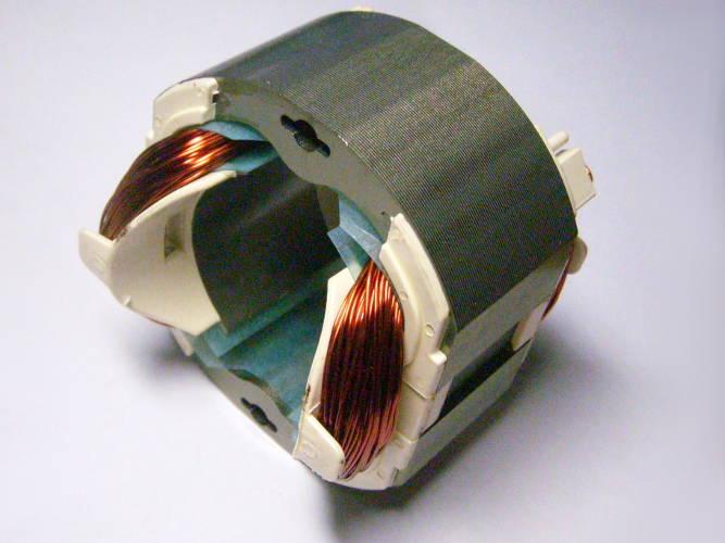 Статор 72*84-d48-L35 электрокосы Зенит ЗТС-1450 под якорь 47 мм
