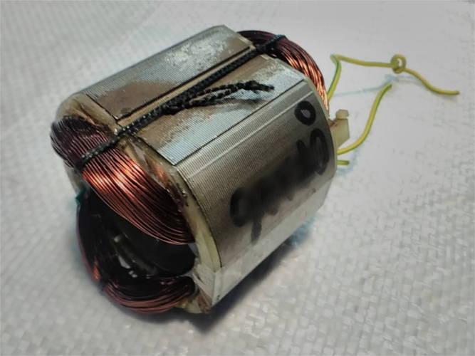 Ремонт статора d40*65 w57*64 L60 электродрели GRAND ДЭУ-1500