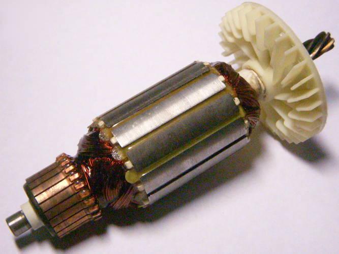 Якорь L157-118-d40 для дисковой циркулярной ручной электропилы Зенит-255
