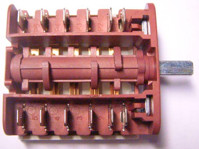 Шестиконтактный переключатель MXT-150-E3 для электроплиты Zanussi, Bomann