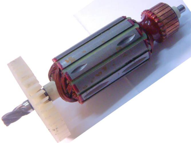 Якорь цепной электропилы Craft-tec-1500 и Тайга-1500 С на подшипник 6 мм