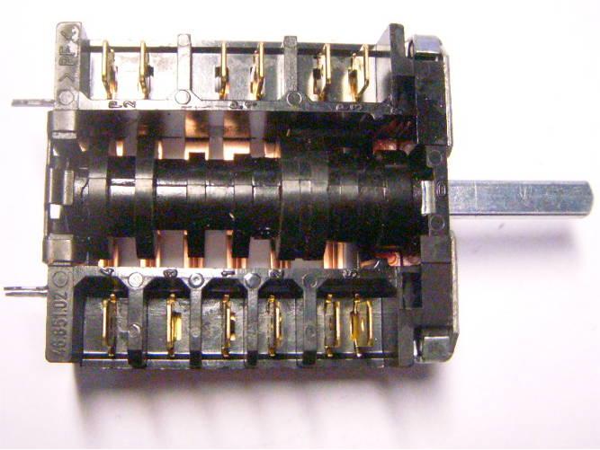 Плавный переключатель EGO 46.23866.834 с тремя фиксированными позициями
