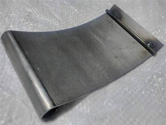 Шибер 80*145 на зернодробилку Икор 01
