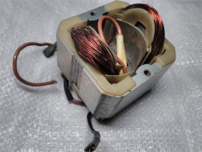 Короткий статор d47-76*76-L40 для цепной электропилы Wintech, Протон