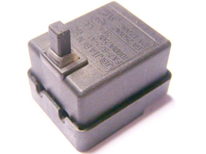 Кнопка болгарки на 4-х контактных винтах с разомкнутой цепью
