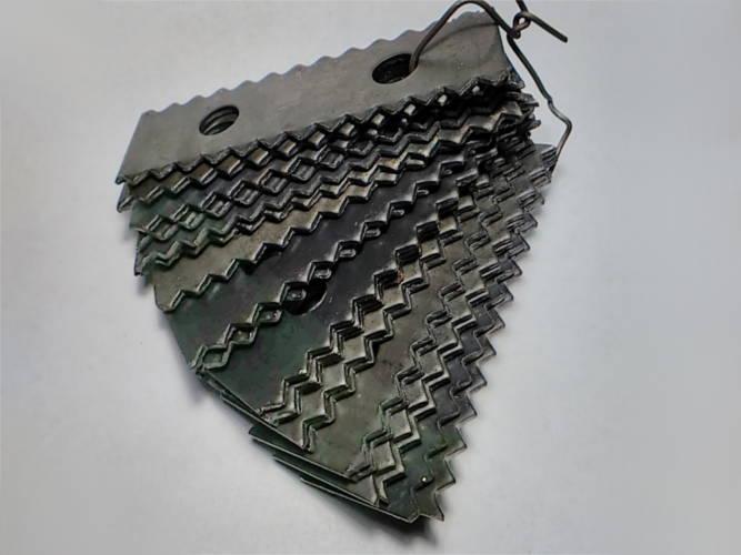 Комплект 20 штук молотков на зернодробилку Млинок