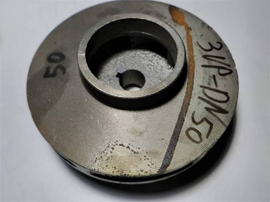 Чугунная крыльчатка 124-58-17-h48 для насоса Sprut 3VP-DN50