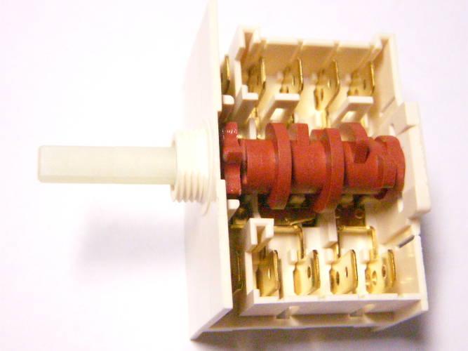 7-ми позиционный переключатель под гайку для электропечи Hansa