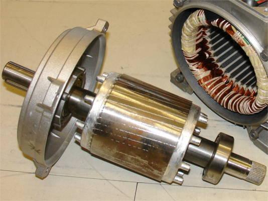 Ремонт ротора насосной станции