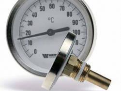 Термометр для водонагревательного котла