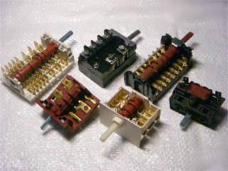 Переключатели для электроплиты