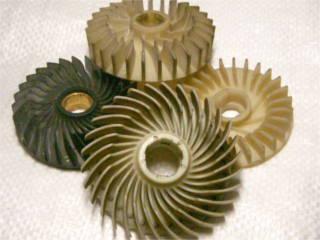 Вентилятор якоря цепной электропилы