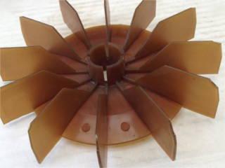 Крыльчатка двигателя кормоизмельчителя