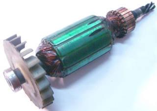 Якори двигателя электрокосы