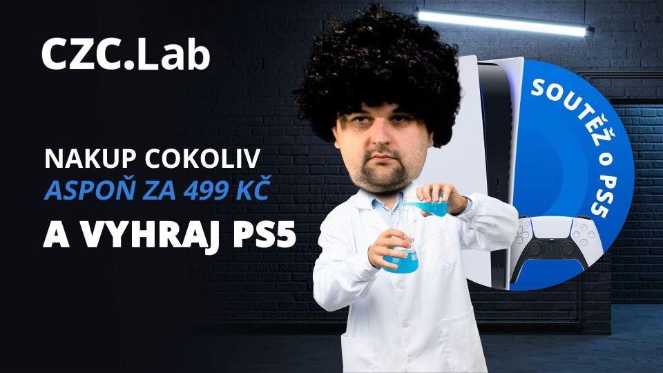 Nakupte za pětistovku v CZC.Labu a vyhrajte PlayStation 5!