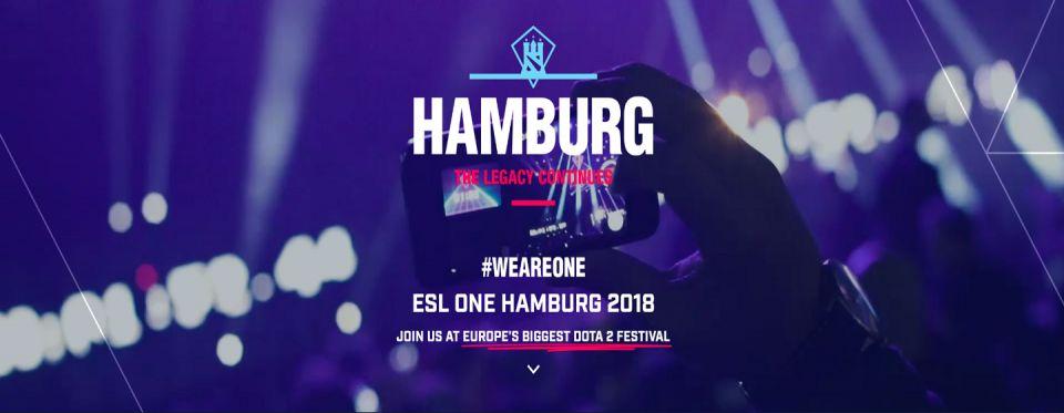EG - Druhý tím pozvaný na ESL One Hamburg 2018