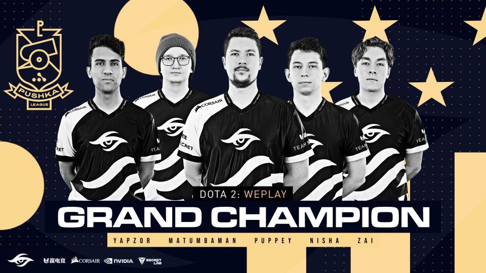 Team Secret jsou šampióni Pushka league. Češi skončili na děleném pátém místě