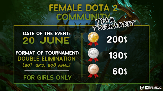 Greedy Girls v ladies turnaji