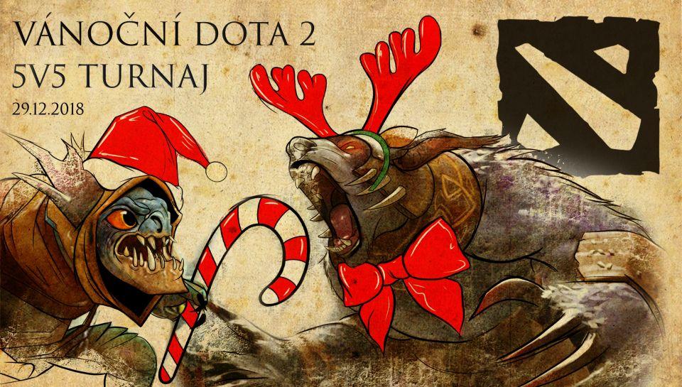 Vánoční Dota 2 5v5 turnaj