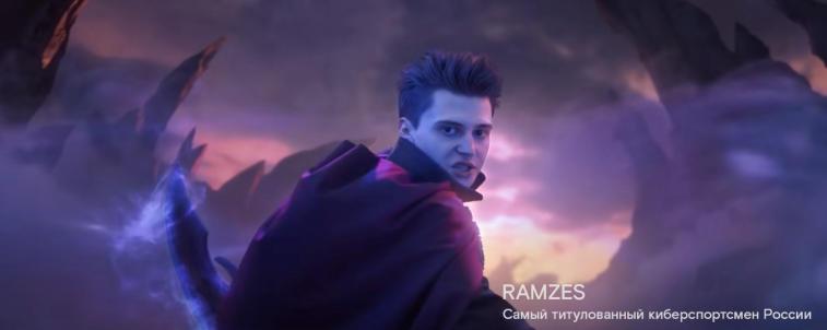 RAMZES666 si zahrál v další reklamě