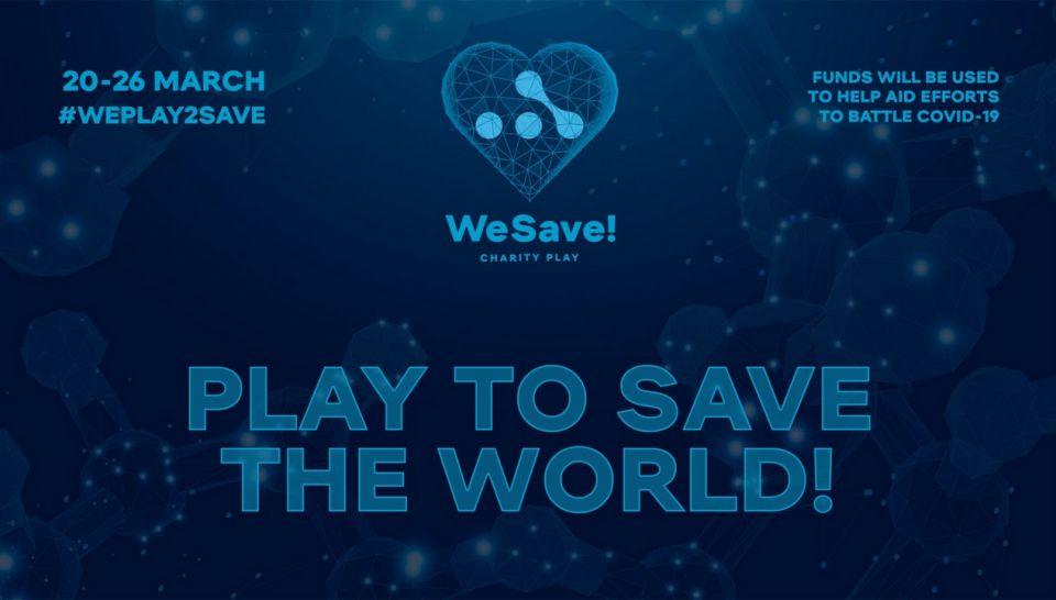 WeSave! Charity Play vybral přes $68.000