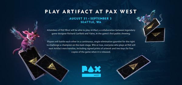 Artifact na PAX West