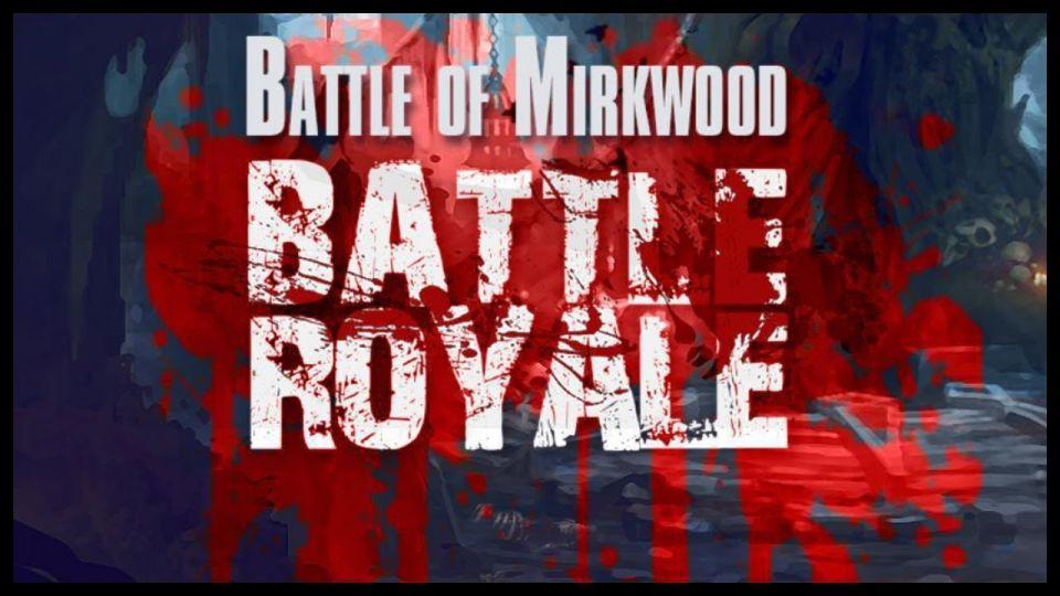 Tribute stream + turnaj v Mirkwoodu