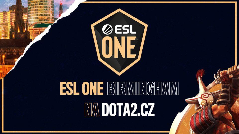 Zpravodajský coverage ESL One Birmingham na DOTA2.cz