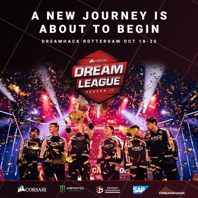 DreamLeague Season 12 bude hostit Nizozemsko
