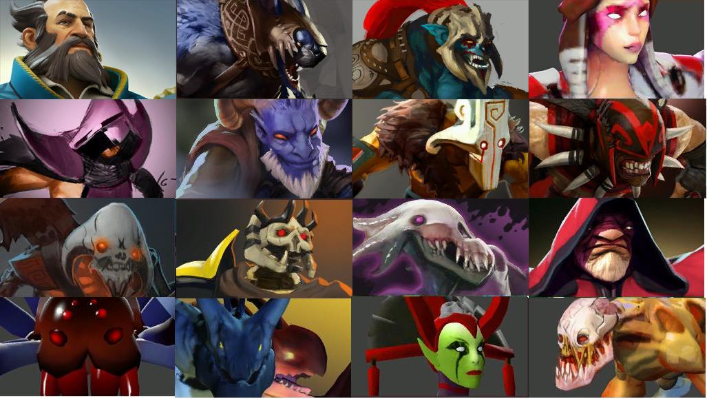 Noví hrdinové v Dotě 2 (AKTUALIZOVÁNO)