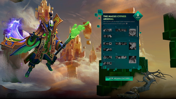 Frosthaven Event & Rubick Arcana