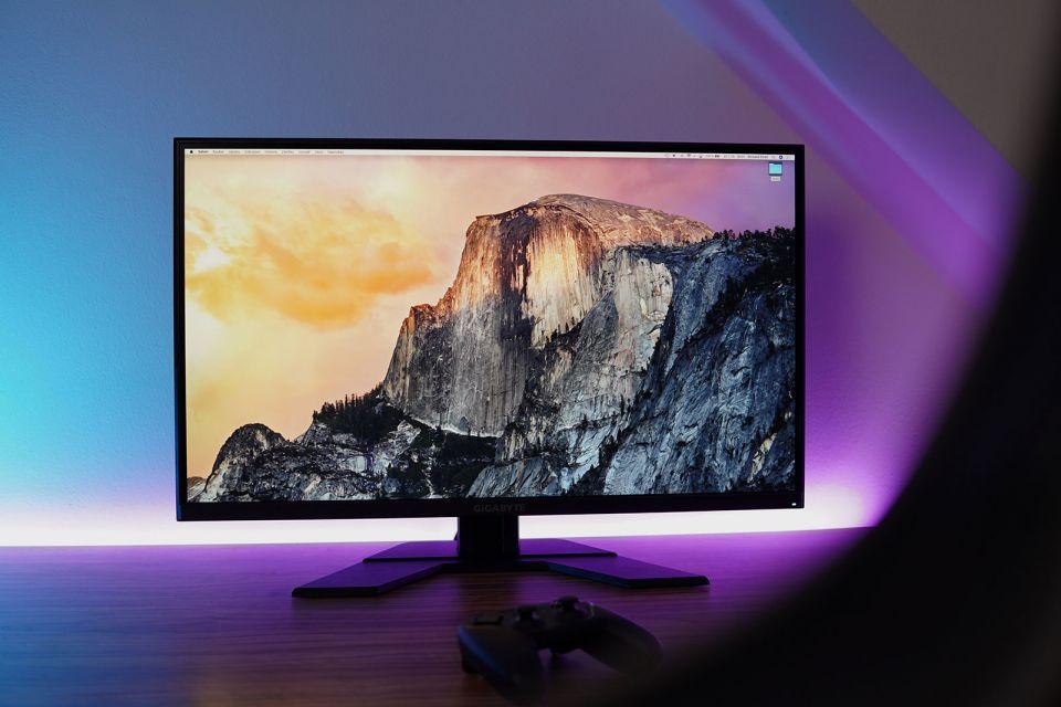 Herní monitory Gigabyte - velká úhlopříčka, jemné rozlišení a hodně hertzů za super cenu