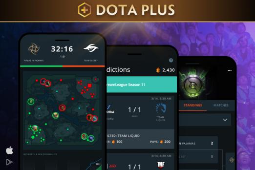 Nová aplikace pro Dota Plus