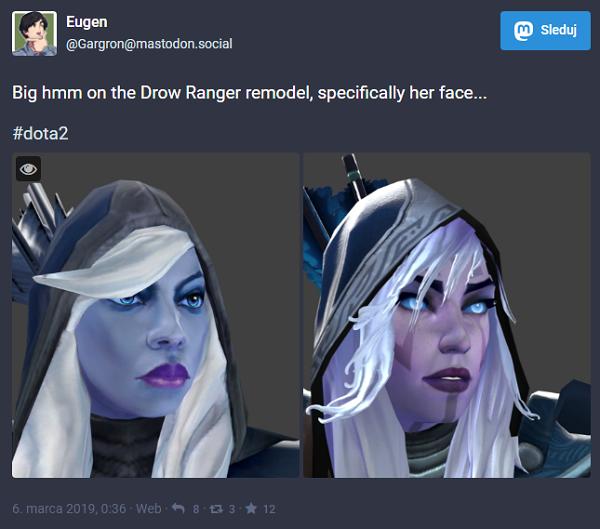 Drow Ranger remodel