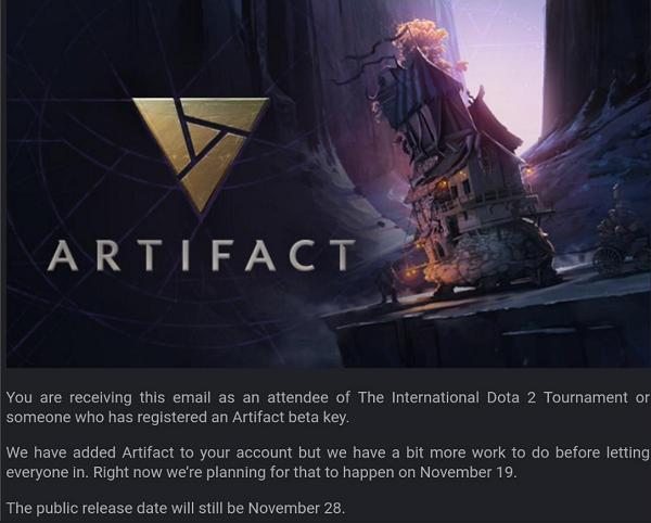 Artifact - Beta tento mesiac ešte nebude