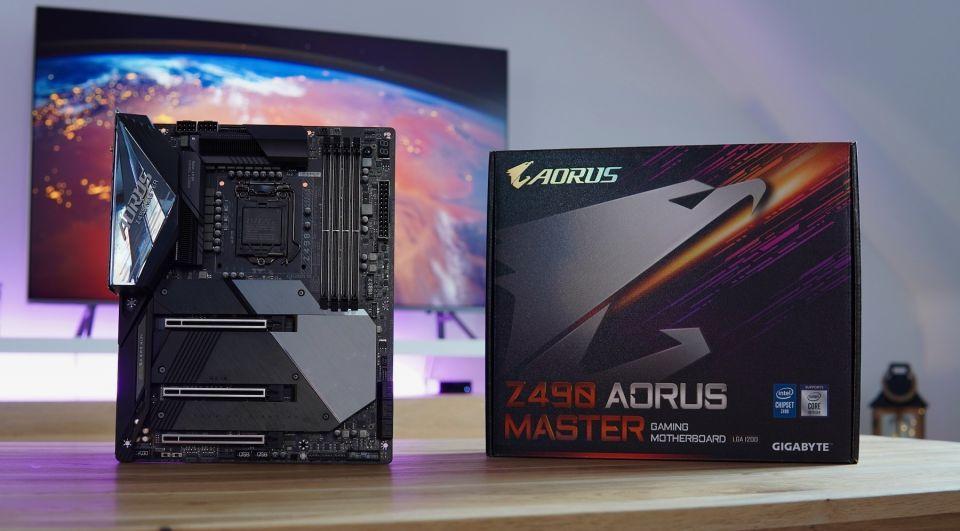Gigabyte Z490 Aorus Master - podvozek pro náročné uživatele