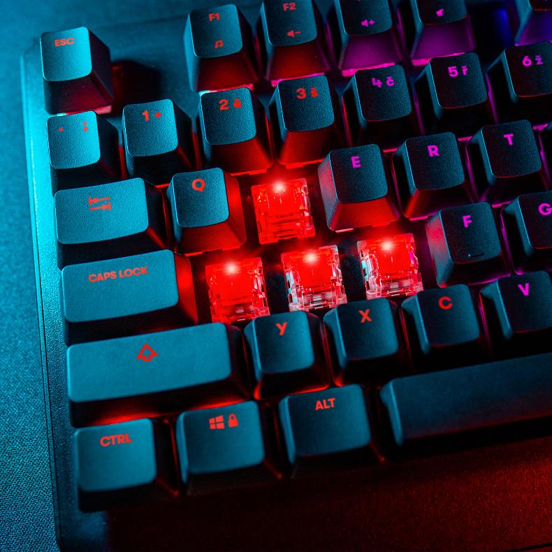 Niceboy ORYX K444 a K610 – kvalitní mechanické klávesnice za skvělou cenu