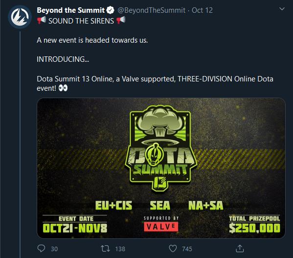 Valve se konečně probouzí. Podpoří dva mezinárodní turnaje