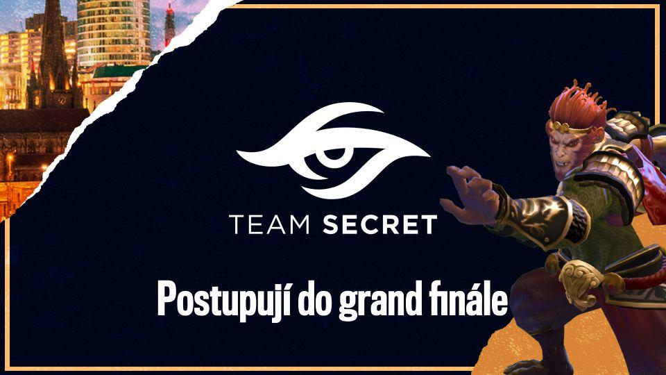 Team Secret doplní Alliance v grand finále na ESL One Birmingham 2020