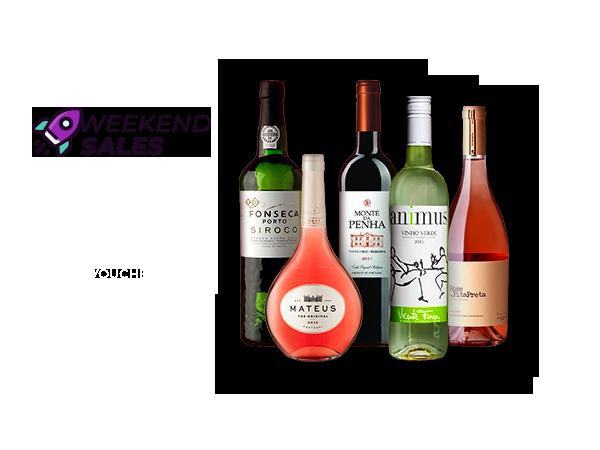 Weekend Sales: Vinhos