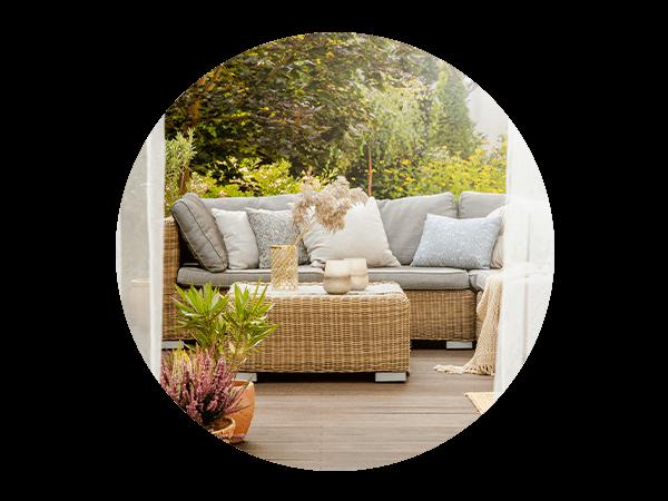 highlight of Viva o espaço exterior de sua casa em pleno!